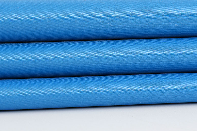 210D waterproof slive coating-Blue
