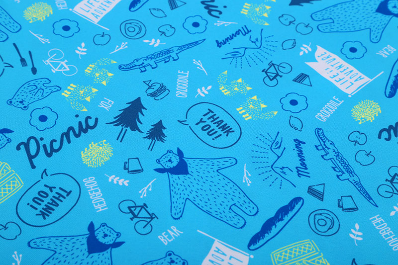 300D digital printing oxford fabric
